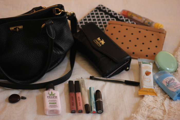 Sharing My Sole - What's in my bag