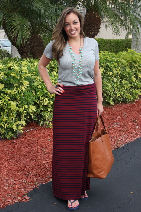 Sharing My Sole - Maxi Skirt