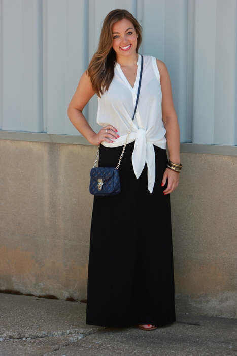 Sharing My Sole - 5 Ways to Wear a Maxi