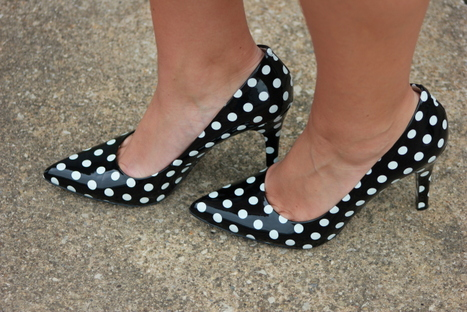 Nine West Polka Dot Heels
