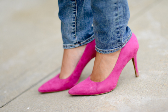 Sharing My Sole - Pink Heels