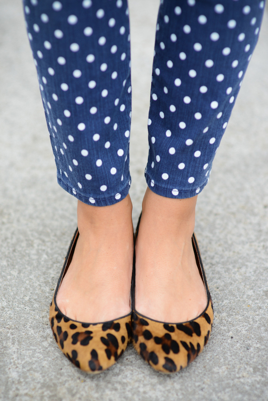 Sharing My Sole - Leopard and Dots