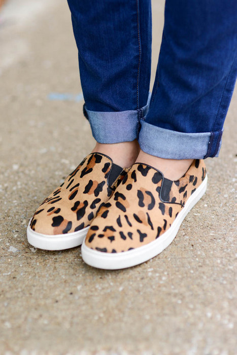 Sharing My Sole - Steve Madden Leopard Sneakers