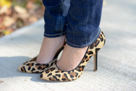 Sharing My Sole - Leopard & Hearts