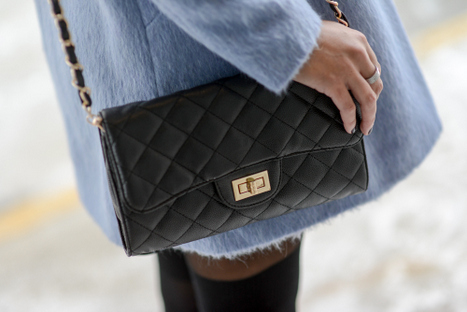 White Plum Quilted Bag